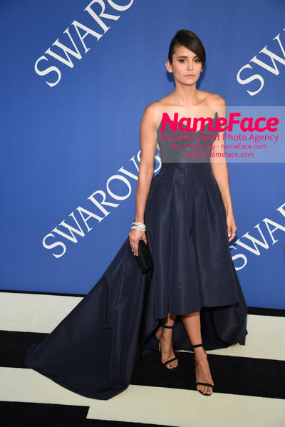 2018 CFDA Fashion Awards Nina Dobrev - NameFace Photo Agency New York City - hello@nameface.com - nameface.com - Photo by Steve Eichner