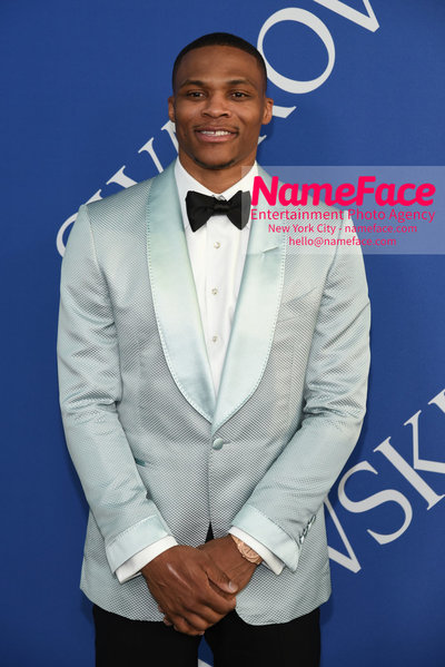 2018 CFDA Fashion Awards Russell Westbrook - NameFace Photo Agency New York City - hello@nameface.com - nameface.com - Photo by Steve Eichner