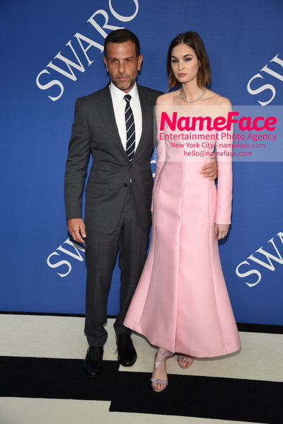 2018 CFDA Fashion Awards Alexandre Birman and Laura Love - NameFace Photo Agency New York City - hello@nameface.com - nameface.com - Photo by Steve Eichner