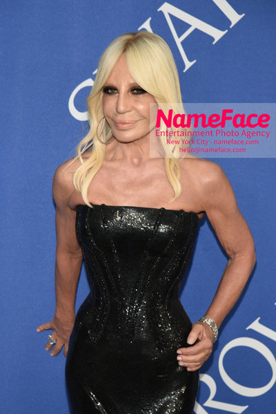 2018 CFDA Fashion Awards Donatella Versace - NameFace Photo Agency New York City - hello@nameface.com - nameface.com - Photo by Steve Eichner