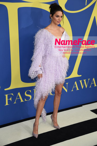 2018 CFDA Fashion Awards Kendall Jenner - NameFace Photo Agency New York City - hello@nameface.com - nameface.com - Photo by Steve Eichner