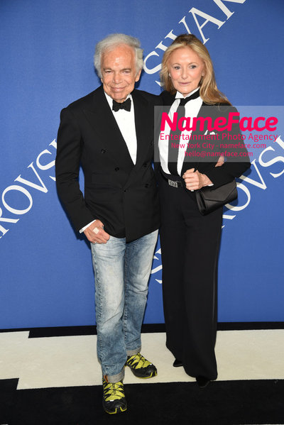 2018 CFDA Fashion Awards Ralph Lauren and Ricky Lauren - NameFace Photo Agency New York City - hello@nameface.com - nameface.com - Photo by Steve Eichner
