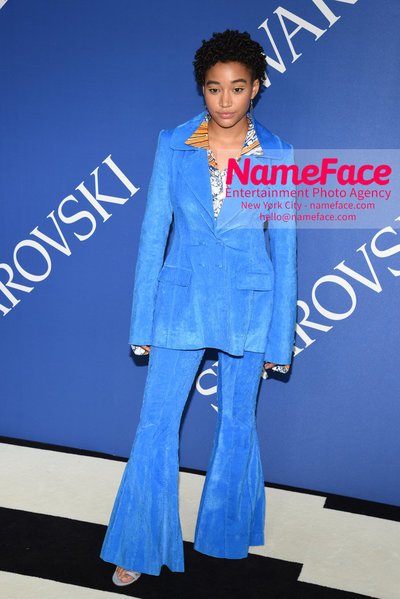 2018 CFDA Fashion Awards Amandla Stenberg - NameFace Photo Agency New York City - hello@nameface.com - nameface.com - Photo by Steve Eichner