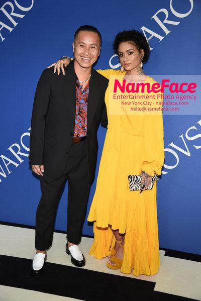 2018 CFDA Fashion Awards Phillip Lim and Kehlani - NameFace Photo Agency New York City - hello@nameface.com - nameface.com - Photo by Steve Eichner