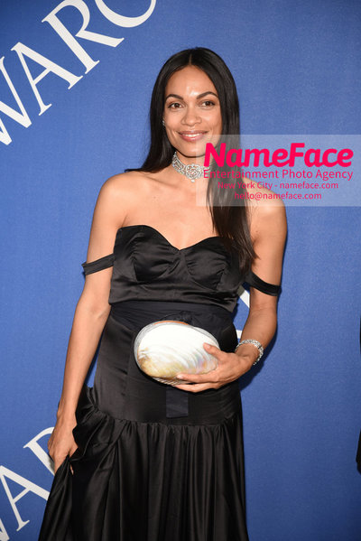 2018 CFDA Fashion Awards Rosario Dawson - NameFace Photo Agency New York City - hello@nameface.com - nameface.com - Photo by Steve Eichner