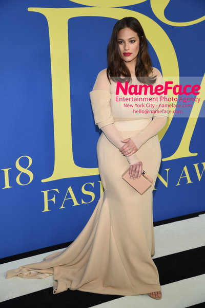 2018 CFDA Fashion Awards Ashley Graham - NameFace Photo Agency New York City - hello@nameface.com - nameface.com - Photo by Steve Eichner