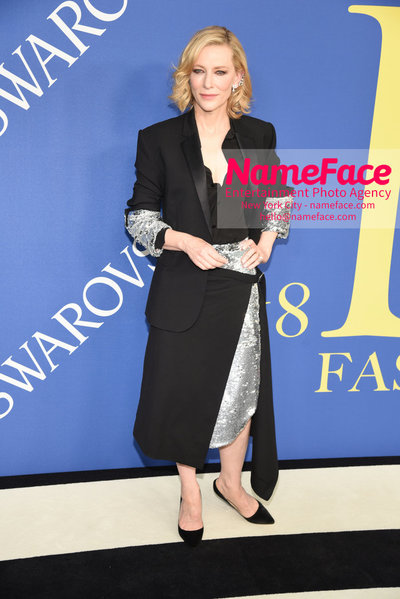 2018 CFDA Fashion Awards Cate Blanchett - NameFace Photo Agency New York City - hello@nameface.com - nameface.com - Photo by Steve Eichner