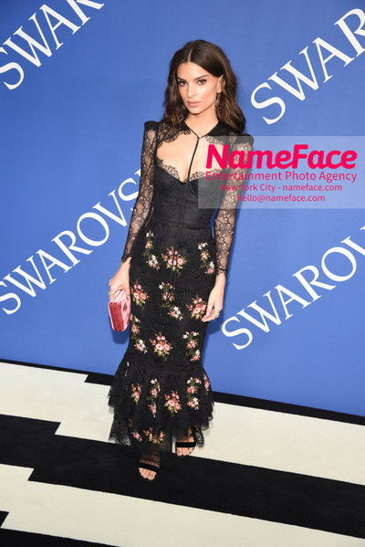 2018 CFDA Fashion Awards Emily Ratajkowski - NameFace Photo Agency New York City - hello@nameface.com - nameface.com - Photo by Steve Eichner