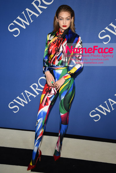 2018 CFDA Fashion Awards Gigi Hadid - NameFace Photo Agency New York City - hello@nameface.com - nameface.com - Photo by Steve Eichner