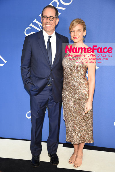 2018 CFDA Fashion Awards Jerry Seinfeld and Jessica Seinfeld - NameFace Photo Agency New York City - hello@nameface.com - nameface.com - Photo by Steve Eichner