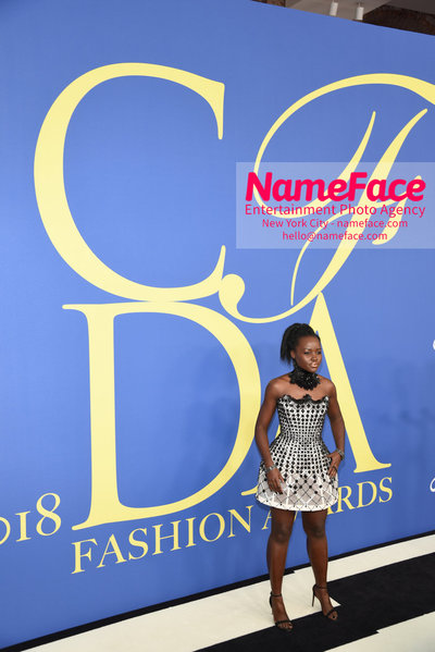 2018 CFDA Fashion Awards Lupita Nyongo - NameFace Photo Agency New York City - hello@nameface.com - nameface.com - Photo by Steve Eichner
