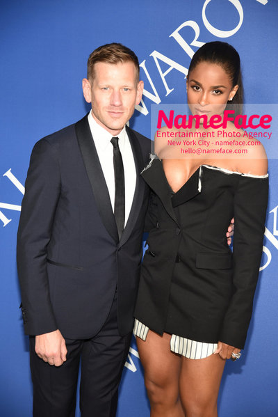 2018 CFDA Fashion Awards Paul Andrew and Ciara - NameFace Photo Agency New York City - hello@nameface.com - nameface.com - Photo by Steve Eichner
