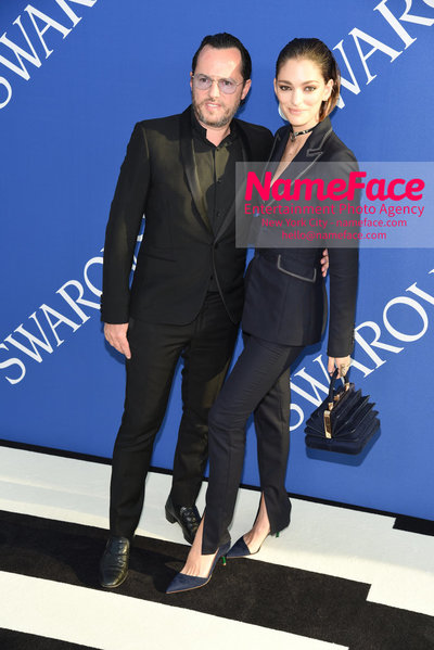 2018 CFDA Fashion Awards Alexandre de Betak and Sofia Sanchez de Betak - NameFace Photo Agency New York City - hello@nameface.com - nameface.com - Photo by Steve Eichner