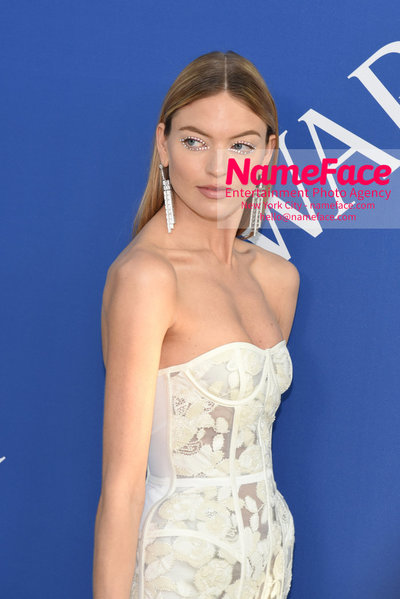 2018 CFDA Fashion Awards Martha Hunt - NameFace Photo Agency New York City - hello@nameface.com - nameface.com - Photo by Steve Eichner