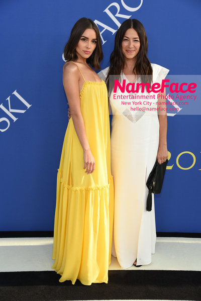 2018 CFDA Fashion Awards Olivia Culpo and Rebecca Minkoff - NameFace Photo Agency New York City - hello@nameface.com - nameface.com - Photo by Steve Eichner