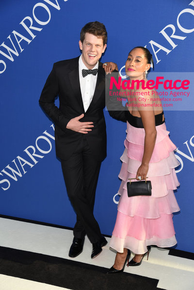 2018 CFDA Fashion Awards Wes Gordon and Tracee Ellis Ross - NameFace Photo Agency New York City - hello@nameface.com - nameface.com - Photo by Steve Eichner