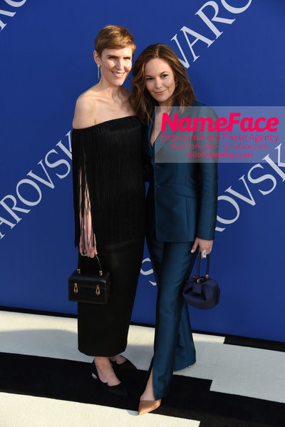 2018 CFDA Fashion Awards Gabriela Hearst and Diane Lane - NameFace Photo Agency New York City - hello@nameface.com - nameface.com - Photo by Steve Eichner
