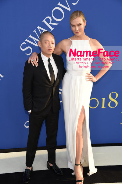 2018 CFDA Fashion Awards Jason Wu and Karlie Kloss - NameFace Photo Agency New York City - hello@nameface.com - nameface.com - Photo by Steve Eichner