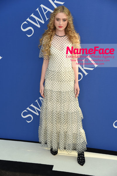 2018 CFDA Fashion Awards Kathryn Newton - NameFace Photo Agency New York City - hello@nameface.com - nameface.com - Photo by Steve Eichner