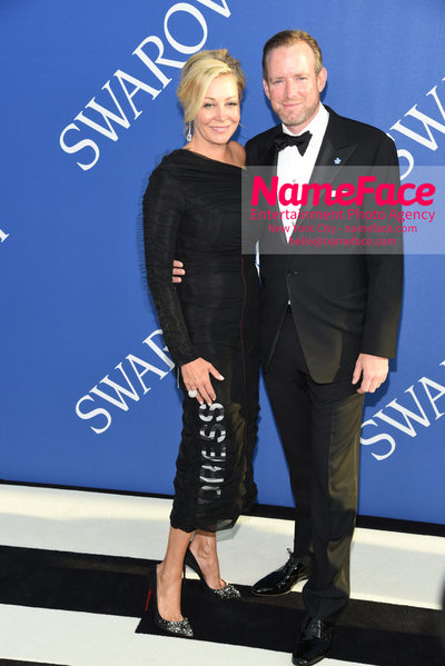 2018 CFDA Fashion Awards Nadja Swarovski and Rupert Adams - NameFace Photo Agency New York City - hello@nameface.com - nameface.com - Photo by Steve Eichner