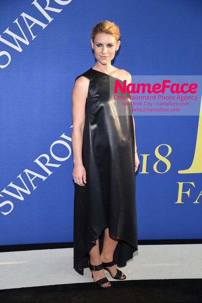 2018 CFDA Fashion Awards Claire Danes - NameFace Photo Agency New York City - hello@nameface.com - nameface.com - Photo by Steve Eichner