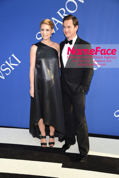 2018 CFDA Fashion Awards Claire Danes and Hugh Dancy - NameFace Photo Agency New York City - hello@nameface.com - nameface.com - Photo by Steve Eichner