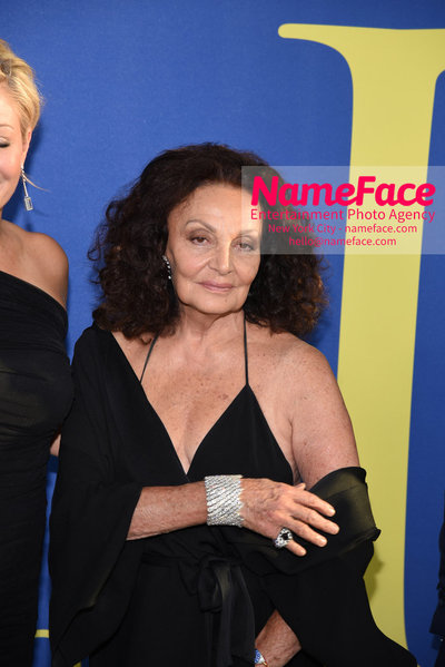 2018 CFDA Fashion Awards Diane von Furstenberg - NameFace Photo Agency New York City - hello@nameface.com - nameface.com - Photo by Steve Eichner