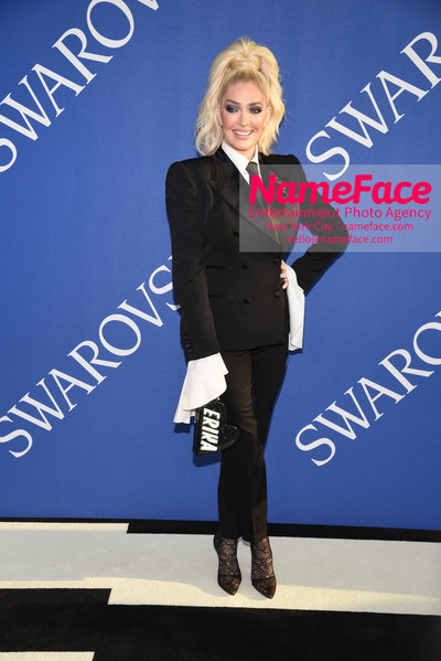 2018 CFDA Fashion Awards Erika Girardi - NameFace Photo Agency New York City - hello@nameface.com - nameface.com - Photo by Steve Eichner