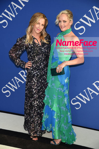 2018 CFDA Fashion Awards Guest and Marley Shelton - NameFace Photo Agency New York City - hello@nameface.com - nameface.com - Photo by Steve Eichner