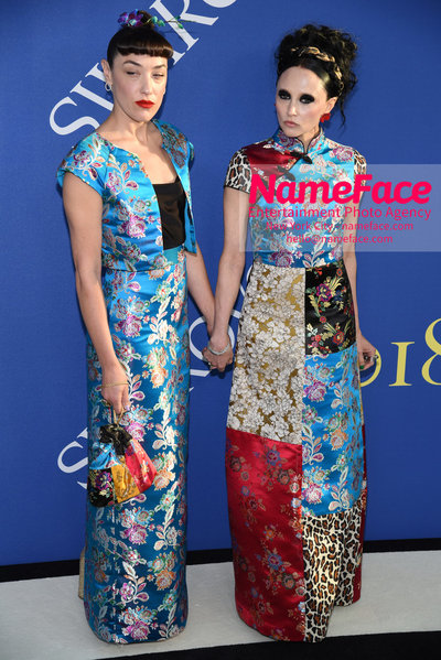 2018 CFDA Fashion Awards Mia Moretti and Stacey Bendet - NameFace Photo Agency New York City - hello@nameface.com - nameface.com - Photo by Steve Eichner