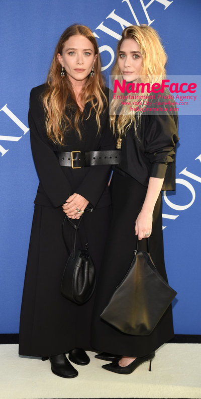 2018 CFDA Fashion Awards Ashley Olsen and Mary-Kate Olsen - NameFace Photo Agency New York City - hello@nameface.com - nameface.com - Photo by Steve Eichner