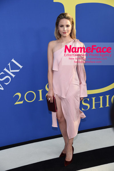 2018 CFDA Fashion Awards Dianna Agron - NameFace Photo Agency New York City - hello@nameface.com - nameface.com - Photo by Steve Eichner