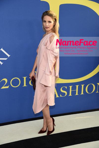2018 CFDA Fashion Awards Dianna Agron - NameFace Photo Agency New York City - hello@nameface.com - nameface.com - Photo by Steve Eichner