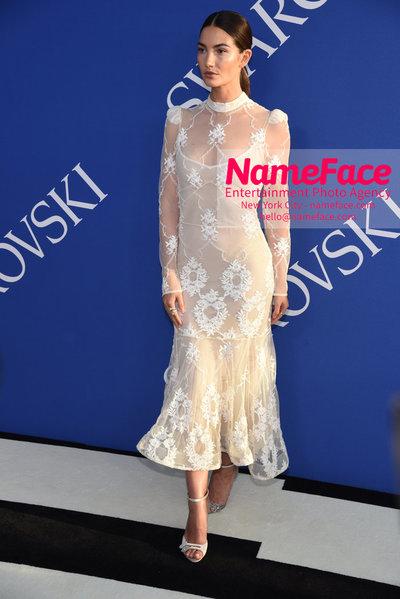 2018 CFDA Fashion Awards Lily Aldridge - NameFace Photo Agency New York City - hello@nameface.com - nameface.com - Photo by Steve Eichner