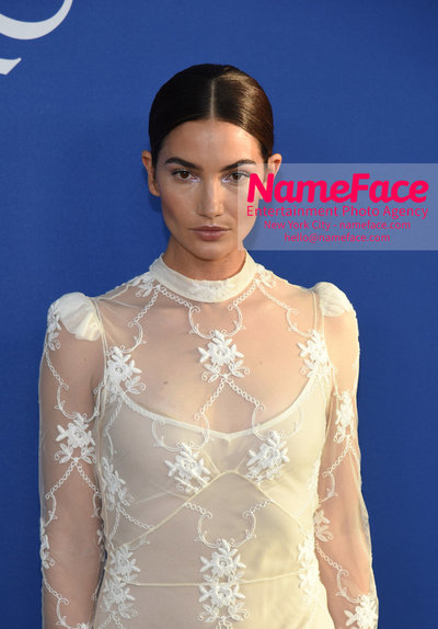 2018 CFDA Fashion Awards Lily Aldridge - NameFace Photo Agency New York City - hello@nameface.com - nameface.com - Photo by Steve Eichner