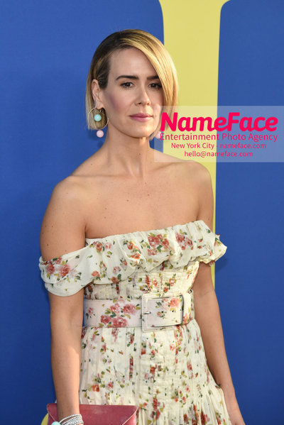 2018 CFDA Fashion Awards Sarah Paulson - NameFace Photo Agency New York City - hello@nameface.com - nameface.com - Photo by Steve Eichner