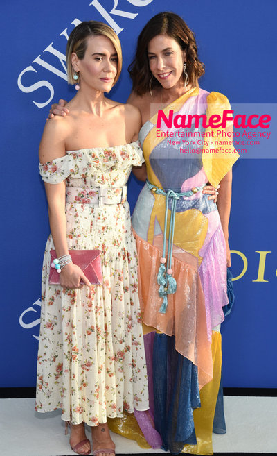 2018 CFDA Fashion Awards Sarah Paulson and Irene Neuwirth - NameFace Photo Agency New York City - hello@nameface.com - nameface.com - Photo by Steve Eichner