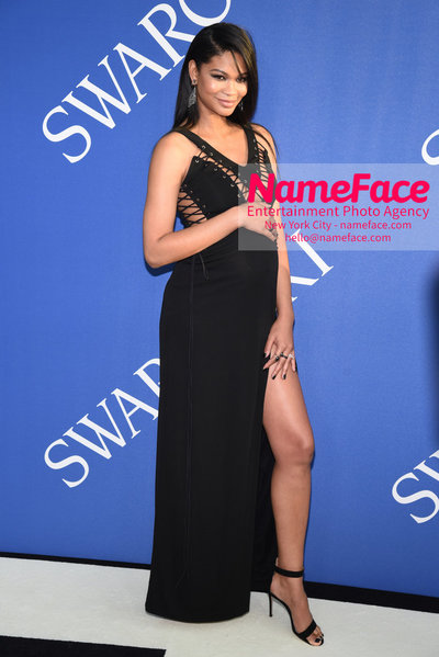 2018 CFDA Fashion Awards Chanel Iman - NameFace Photo Agency New York City - hello@nameface.com - nameface.com - Photo by Steve Eichner