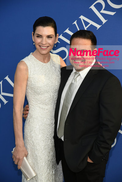 2018 CFDA Fashion Awards Julianna Margulies and Narciso Rodriguez - NameFace Photo Agency New York City - hello@nameface.com - nameface.com - Photo by Steve Eichner