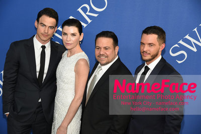 2018 CFDA Fashion Awards Keith Liebertha, Julianna Margulies, Narciso Rodriguez and Thomas Tolan - NameFace Photo Agency New York City - hello@nameface.com - nameface.com - Photo by Steve Eichner