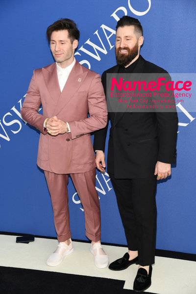 2018 CFDA Fashion Awards Guest and Adam Goldston - NameFace Photo Agency New York City - hello@nameface.com - nameface.com - Photo by Steve Eichner
