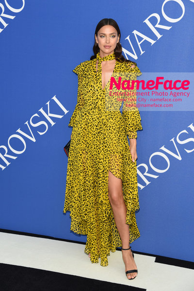 2018 CFDA Fashion Awards Irina Shayk - NameFace Photo Agency New York City - hello@nameface.com - nameface.com - Photo by Steve Eichner