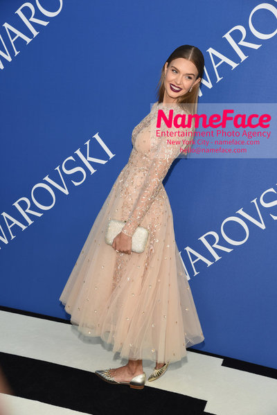 2018 CFDA Fashion Awards Josephine Skriver - NameFace Photo Agency New York City - hello@nameface.com - nameface.com - Photo by Steve Eichner