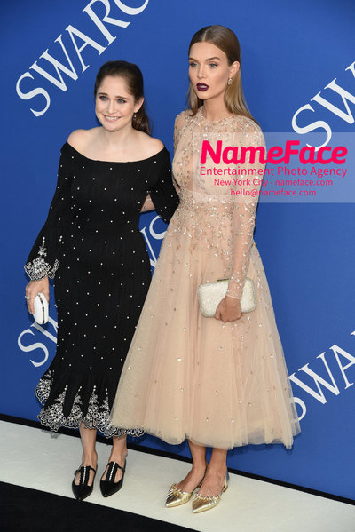 2018 CFDA Fashion Awards Sarah Flint and Josephine Skriver - NameFace Photo Agency New York City - hello@nameface.com - nameface.com - Photo by Steve Eichner