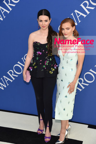 2018 CFDA Fashion Awards Tanya Taylor and Madeline Brewer - NameFace Photo Agency New York City - hello@nameface.com - nameface.com - Photo by Steve Eichner