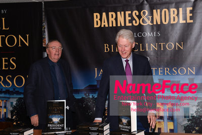 Book Signing Of The President Is Missing By Bill Clinton And James Patterson James Patterson and Bill Clinton - NameFace Photo Agency New York City - hello@nameface.com - nameface.com - Photo by Daniela Kirsch