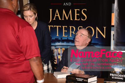 Book Signing Of The President Is Missing By Bill Clinton And James Patterson James Patterson - NameFace Photo Agency New York City - hello@nameface.com - nameface.com - Photo by Daniela Kirsch