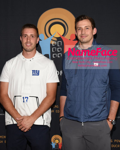 4th Annual Children Of The City Charity Bowl Kyle Lauletta and Davis Webb - NameFace Photo Agency New York City - hello@nameface.com - nameface.com - Photo by Daniela Kirsch