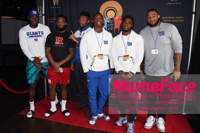 4th Annual Children Of The City Charity Bowl NY Giants Players - NameFace Photo Agency New York City - hello@nameface.com - nameface.com - Photo by Daniela Kirsch