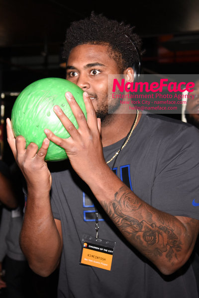 4th Annual Children Of The City Charity Bowl RJ Mcintosh - NameFace Photo Agency New York City - hello@nameface.com - nameface.com - Photo by Daniela Kirsch
